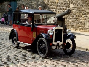 photo of a bmw classic dixi car